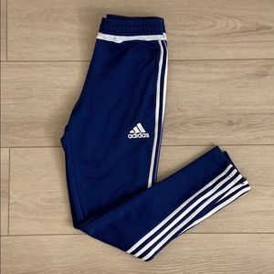 Adidas - S Royal blue and white track pant